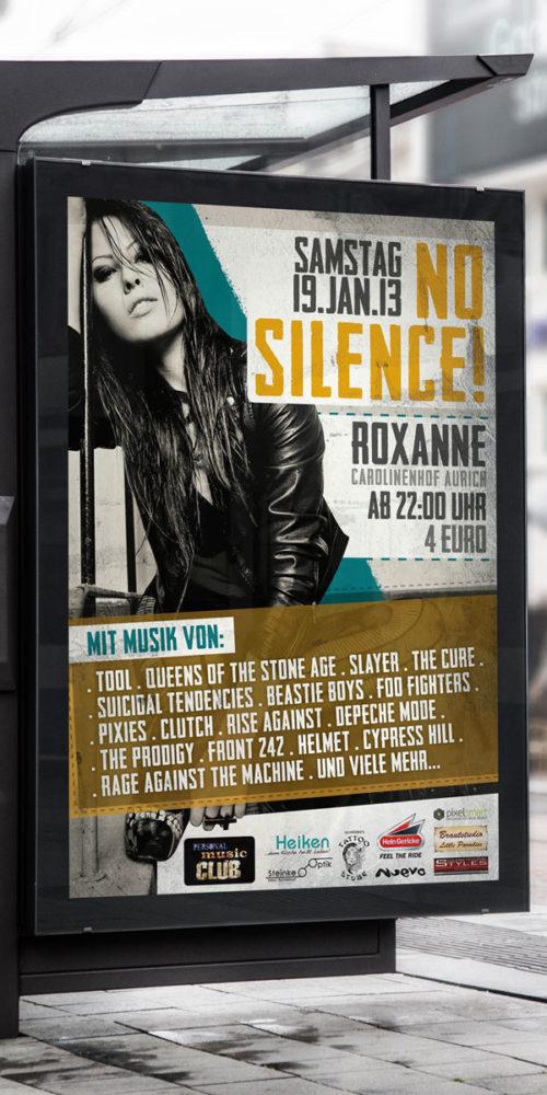 No Silence | Plakat