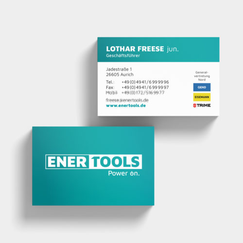 Enertools GmbH | Visitenkarten
