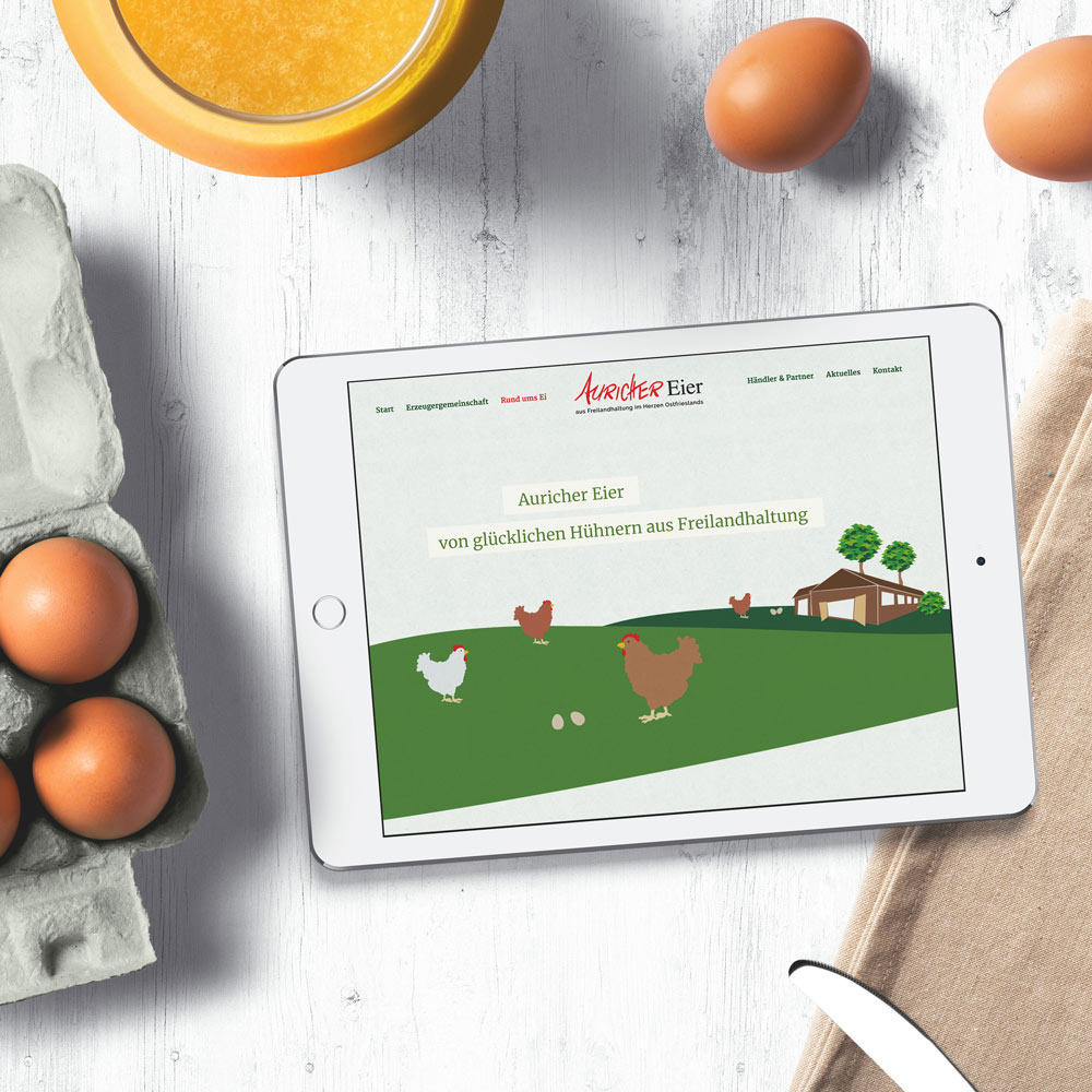 Auricher Eier Webseite   Home